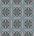 ceramic tile with seamless pattern vector image vector image