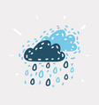 cool single weather icon vector image