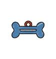 Dog bone tag icon