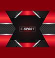 e-sports modern futuristic background dark and vector image vector image