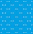 ice hockey rink pattern seamless blue vector image vector image