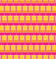 Seamless rectangular tile pattern vector image vector image