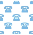 Telephone seamless pattern vector image vector image