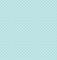 Blue Polka Dot Seamless Pattern Background vector image vector image