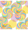 carnival fiesta whirl seamless pattern vector image