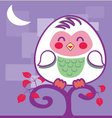 cute-Owl vector image