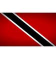 Flag of Trinidad and Tobago vector image