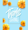 happy thanksgiving greeting card holiday vector image vector image