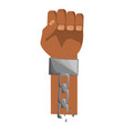 juneteenth freedom day symbol vector image