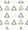 memphis seamless pattern vector image vector image