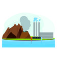 renewable energy industry vector image