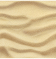 Sand summer beach seamless background vector image vector image