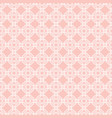 seamless abstract pattern with white vector image