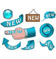 new design elements vector image