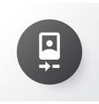 camera front icon symbol premium quality isolated vector image