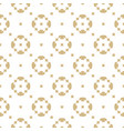 golden seamless pattern in oriental style white vector image vector image