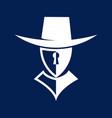 guardian security logo vector image vector image