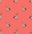 pelicans and fish living coral background vector image vector image