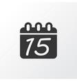 calendar icon symbol premium quality isolated vector image