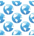Earth pattern vector image vector image