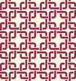 Graphic simple splicing ornamental tile repeated vector image vector image