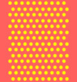 light yellow banners set of circles spheres vector image