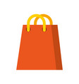 paper bag gift shopping sale offer icon vector image