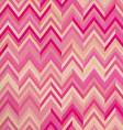 Seamless pattern pink zigzag hipster retro vintage vector image vector image