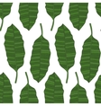 the leaves tropical palm trees pattern vector image vector image