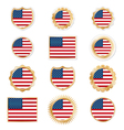 United states emblems vector image