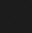 Black Polka Dot Seamless Pattern Background vector image