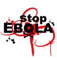 ebola virus design vector image