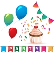 birthday celebration design elements vector image vector image
