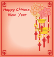 chinese new year background vector image vector image