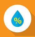 drip icon flat symbol premium quality isolated vector image