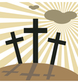 good friday easter vector image