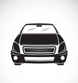 image an car design on white background vector image