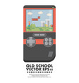 old gadget flat vector image vector image