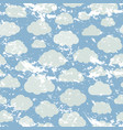 pattern with cloud vector image