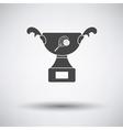 Tennis cup icon vector image vector image