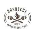 bbq barbecue grills international food imag vector image