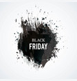 black-friday-spot vector image vector image