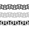 celtic national seamless ornament vector image vector image
