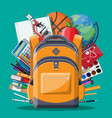 education target and study concept vector image vector image