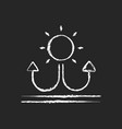 fabric with reflective parts chalk white icon on vector image