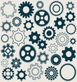 Gear wheels icons vector image vector image