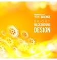 Glow gears vector image vector image