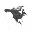 north america map background for communication vector image