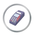 POS terminal icon in cartoon style isolated on vector image vector image