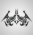 Tribal Bat Tattoo vector image vector image